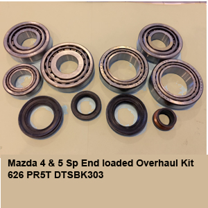 Mazda 4 & 5 Sp End loaded Overhaul Kit 626 PR5T DTSBK303